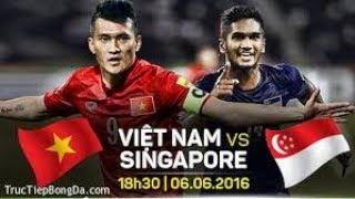 Giao hữu 2016 - AYA Bank Cup 2016 - Chung kết:  Việt Nam vs Singapore