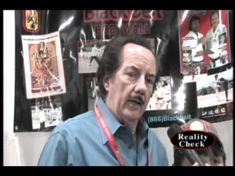 Bob Wall (Martial Arts Star) at Wonder Con 2011