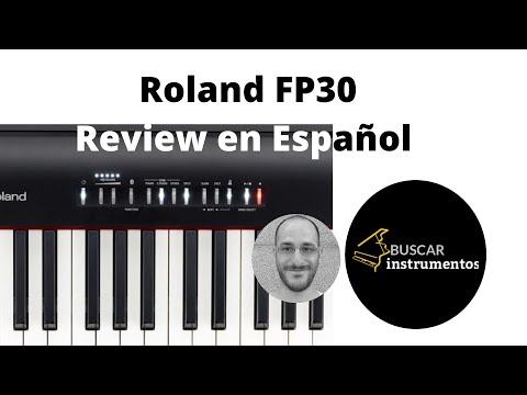 Review y Demo Roland FP 30 en Español ¿Dónde Comprarlo en España?