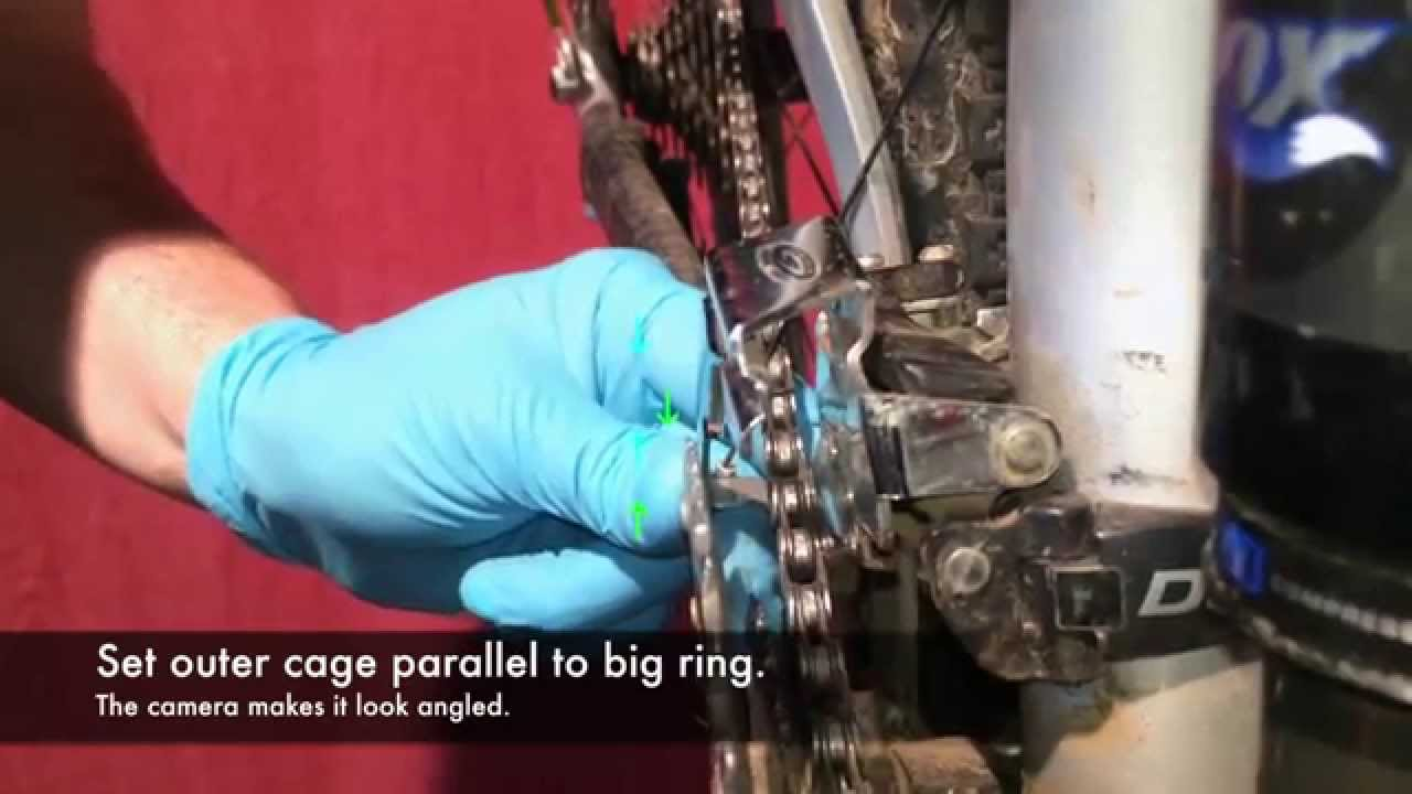 5daf1b6a9e2 How to Adjust Front Derailleur Shifting and Position - YouTube
