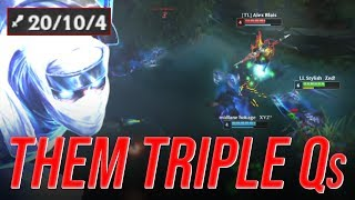 LL Stylish - THEM TRIPLE Qs - UNRANKED TO CHALLENGER
