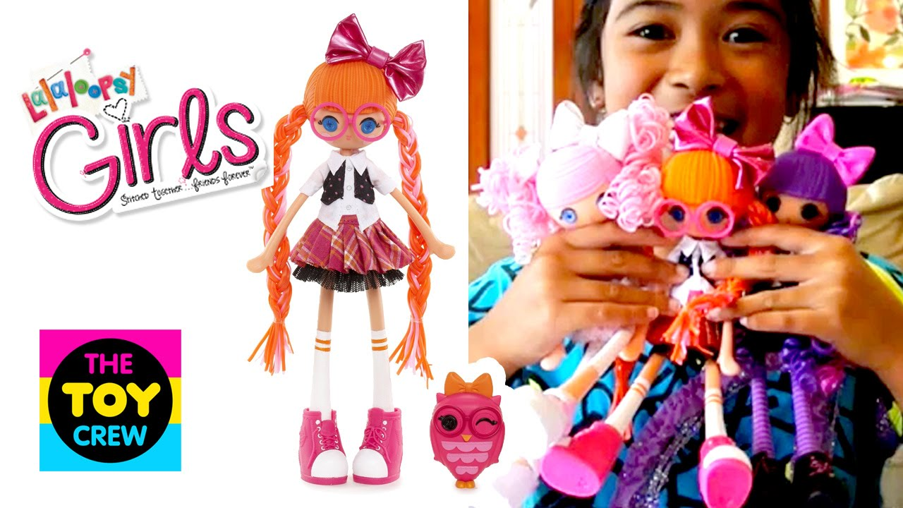 Lalaloopsy Girls Bea Spells A Lot Changes Hair Colour Unbox Youtube