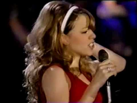 mariah carey all i want for christmas is you live daydream tour tokyo dome 1996 youtube - Mariah Carey All I Want For Christmas Live