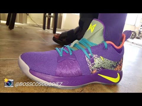 f6db93af03a NIKE PG 2 MAMBA MENTALITY KOBE DAY SNEAKER DETAILED REVIEW - YouTube
