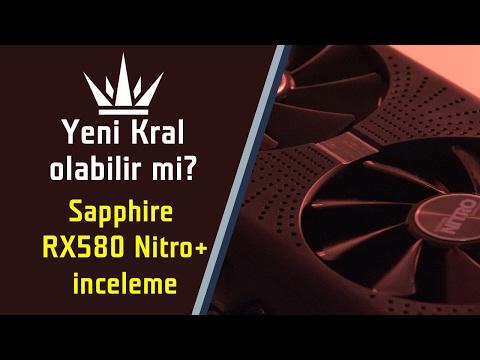 """Yeni Kral olabilir mi? """"Sapphire RX580 Nitro+ inceleme"""""""