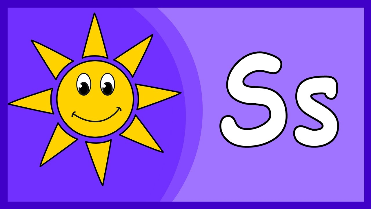 S Alphabet Images Letter S Song A...