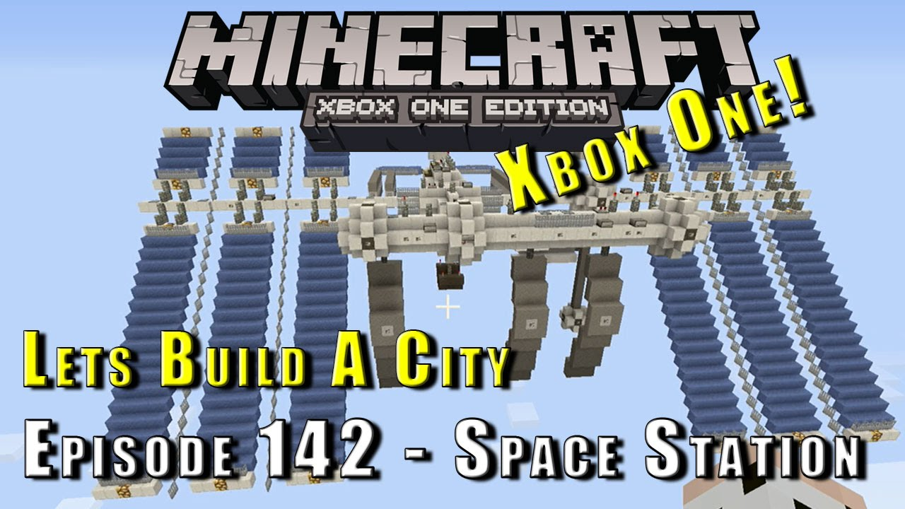 Minecraft Lets Build A Space Station