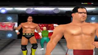 WWE RAW: Total Edition 2008. Fake Entrances Part 2. Gameplay