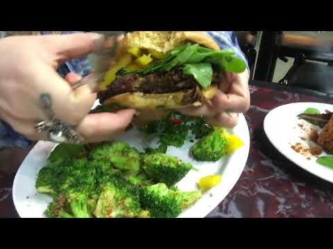 What vegans eat | Vegan Restaurant review