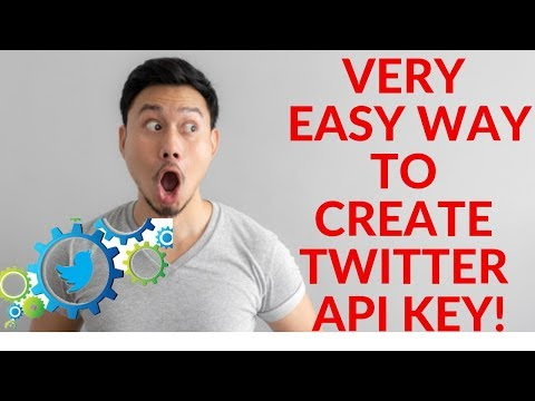 How To Create Twitter API Keys And Tokens - Twitter Application Management