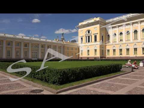 State Russian Museum in St. Petersburg 4K.