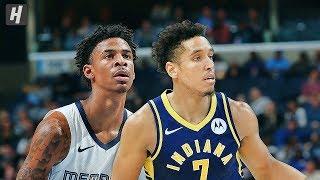 Memphis Grizzlies vs Indiana Pacers - Full Game Highlights | November 25, 2019 | 2019-20 NBA Season Video