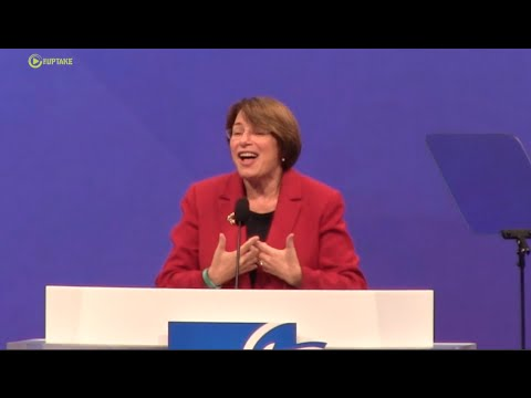 Sen Amy Klobuchar Addresses American Federation of Teachers- Full Speech
