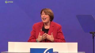 Sen Amy Klobuchar Addresses American Federation of Teachers- Full Speech