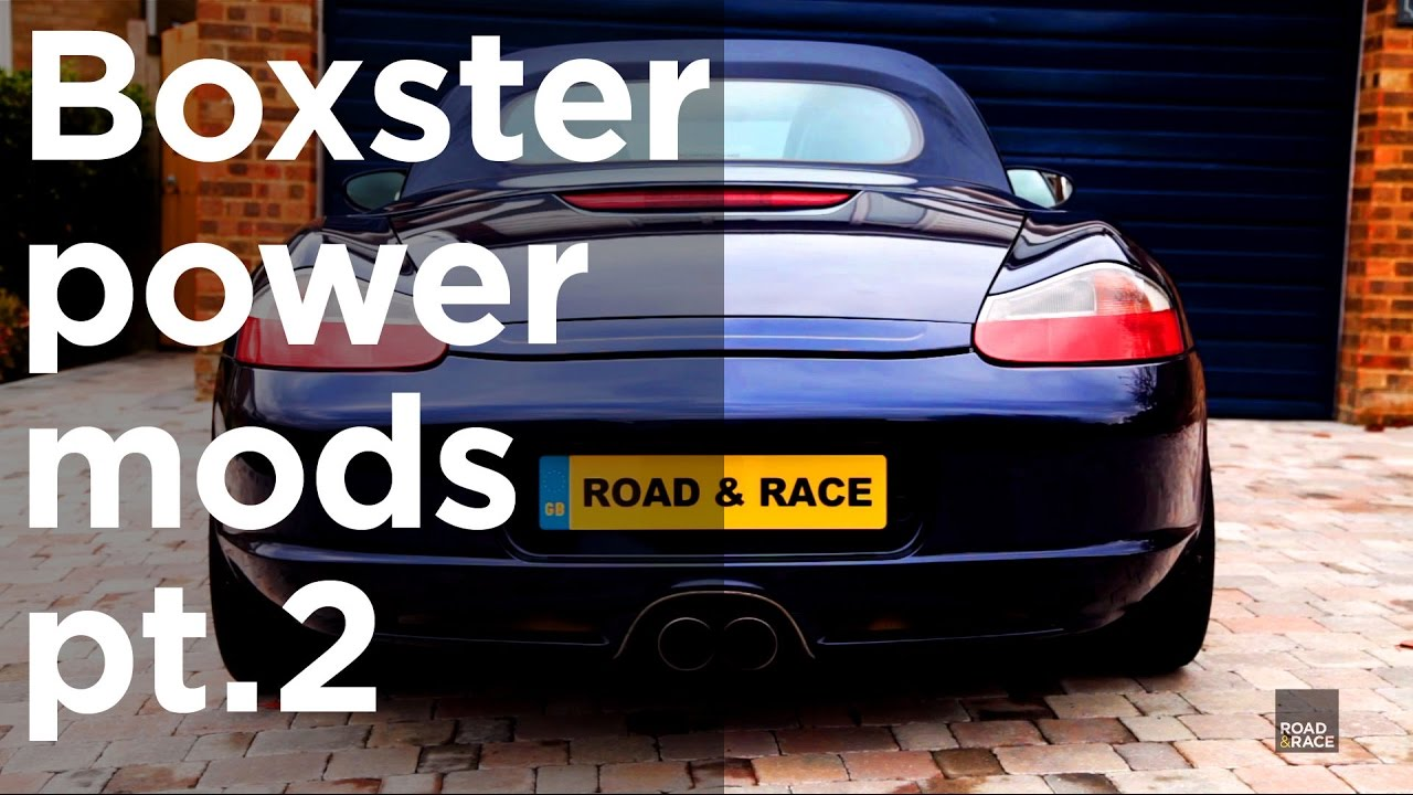 How to make a Boxster faster *More HP!* pt 2 - Underdrive pulley