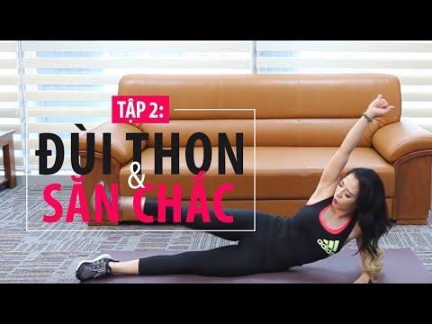 [HIIT SERIES] Ngày 2 -  đùi thon gọn | Hana Giang Anh | Workout #42