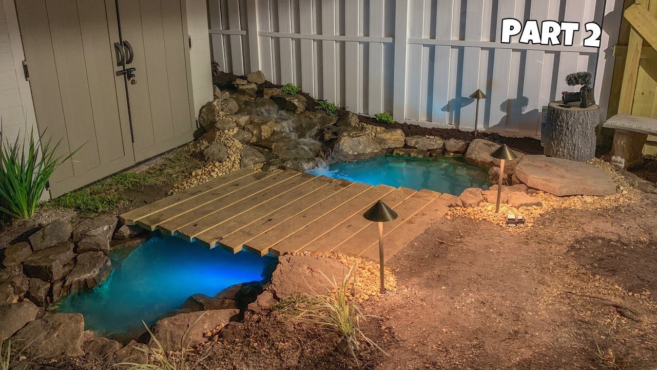 How Make Backyard Pond