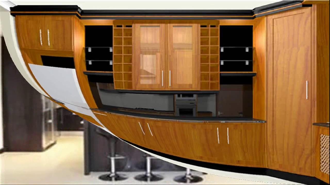 Built In Kitchen Cupboards Designs  YouTube