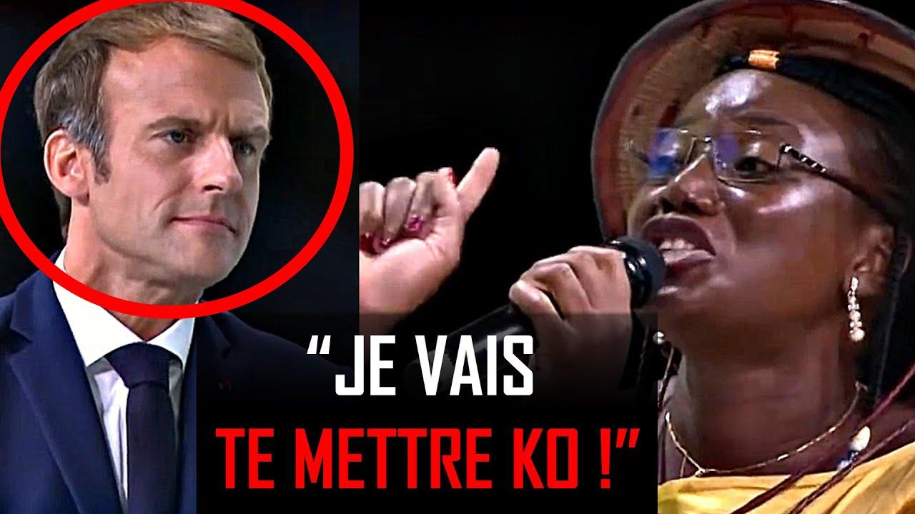 Cette Africaine a Laissé Macron Sans Voix [Discours Choc]  H5 Motivation