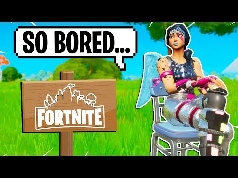 6 Things To Do When You Are *BORED* In Fortnite!
