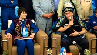 Expedition 43 Crew Receives a Warm Welcome in Kazakhstan and Russia