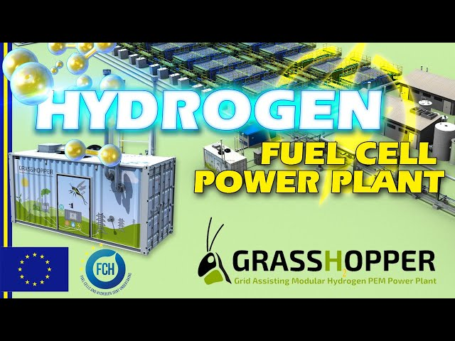GRASSHOPPER PROJECT - Next Generation of Hydrogen Fuel Cell Power Plant