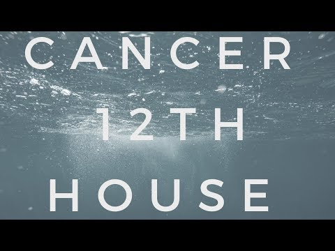 Cancer in the 12th House (Capricorn in the 6th) - YouTube