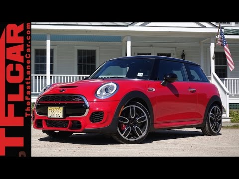 2015 Mini John Cooper Works First Drive Review Fastest Production