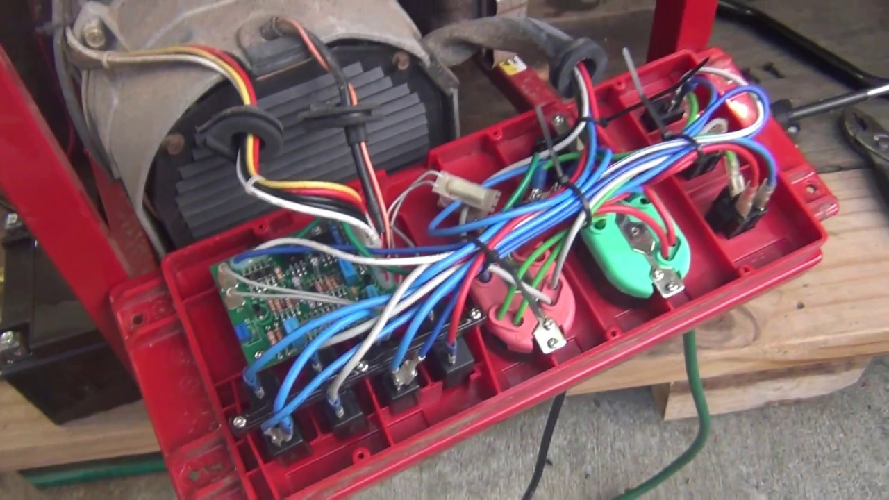 Adjust Voltage Generac Generator 4000exl