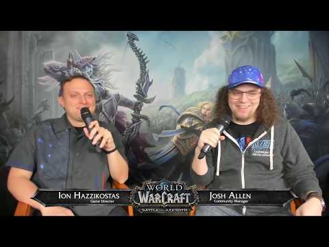 Live Developer Q&A with Ion Hazzikostas- January 24, 2019