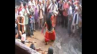 Lakhey Dance at Badegaun, Lalitpur