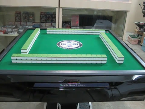 Automatic Mahjong Table Available In Singapore Youtube