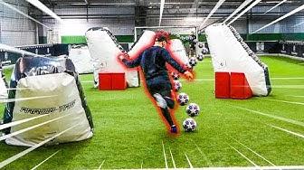 EXTREME PARKOUR FUßBALL CHALLENGE 2vs2