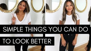 Simple Things You Can Do To Look Better | Enhance Your Look