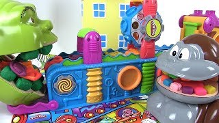 Shrek et le Singe Mangent des Gâteaux, Bonbons Play Doh le Se…