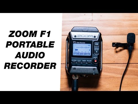 Portable Audio Recorder for Video — Zoom F1 Field Recorder