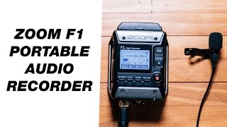 Portable Audio Recorder for Video — Zoom F1 Field Recorder