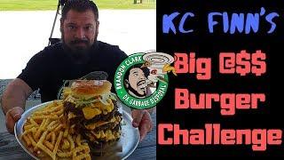 KC Finn's Big A** Burger Challenge Jackson Tennessee