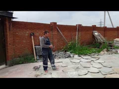Облицовка бетона природным камнем