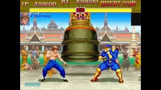 Super Street Fighter II Turbo (Arcade) Playthrough as Fei Long