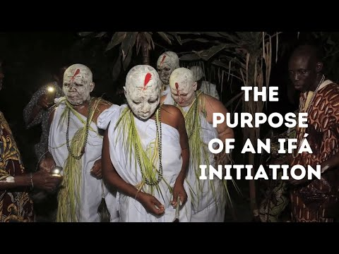 Does an Ifá Initiation Make You a Priest/Priestess? - YouTube