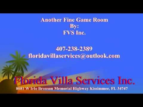 florida villa services game rooms. Florida Villa Services Garage Conversion/Game Room Walk Through Florida Villa Services Game Rooms