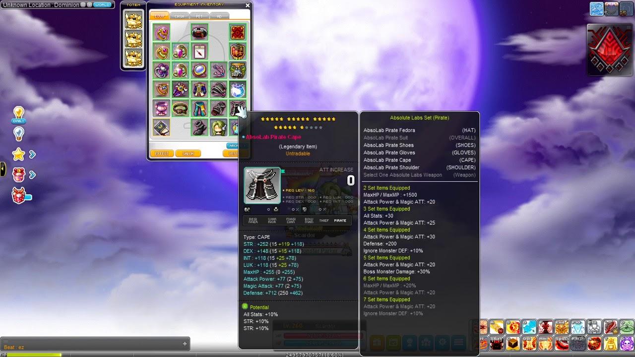 Lvl 260 Ark: Equipment Update Video (Reboot)