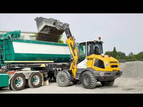Liebherr - The new telescopic wheel loader L 509 Tele