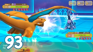 Hey Monster (Monster Park) - CHARIZARD REACHES 6 STARS + BATTLE AGAINST DIALGA AND PALKIA!