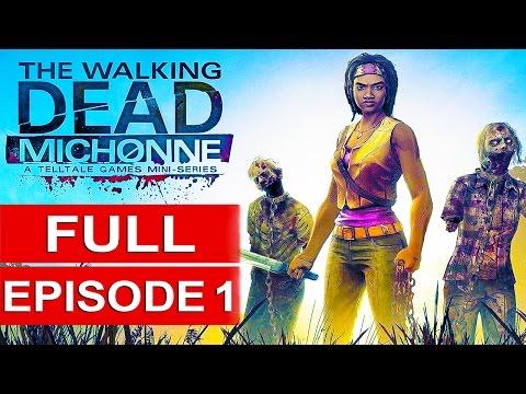 The Walking Dead Michonne Gameplay Walkthrough Part 1 [1080p HD] FULL EPISODE (ENDING)