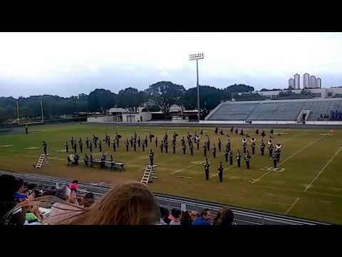 High school bands from District 18-  FBA assessment performances 2016