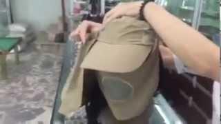 Mũ chống nắng đa năng 360