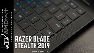 Razer Blade Stealth (2019) Unboxing: Whiskey Lake CPU + MX150 (25W) GPU