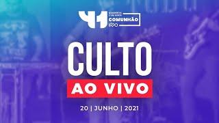 Culto AO VIVO - Domingo 20/06/2021 - IPVO Maringá